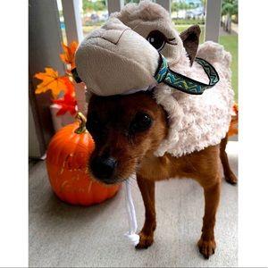 Dog llama Halloween costume